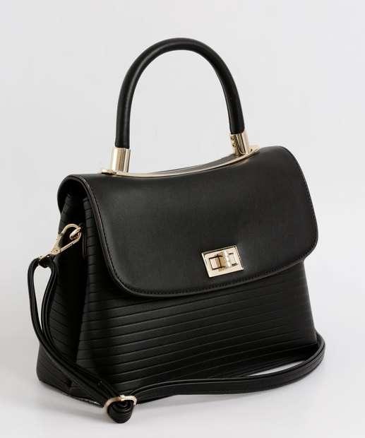 a6ea5d375 Bolsa Feminina de Mão Textura Chenson