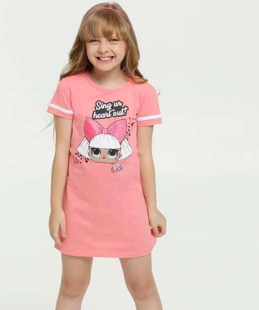 Image_Vestido Infantil Estampa Boneca Glitter Lol