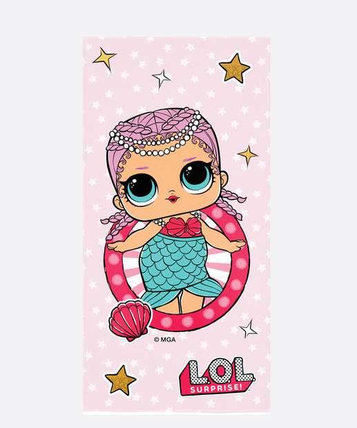 Image_Toalha Praia Infantil Estampa LOL Lepper
