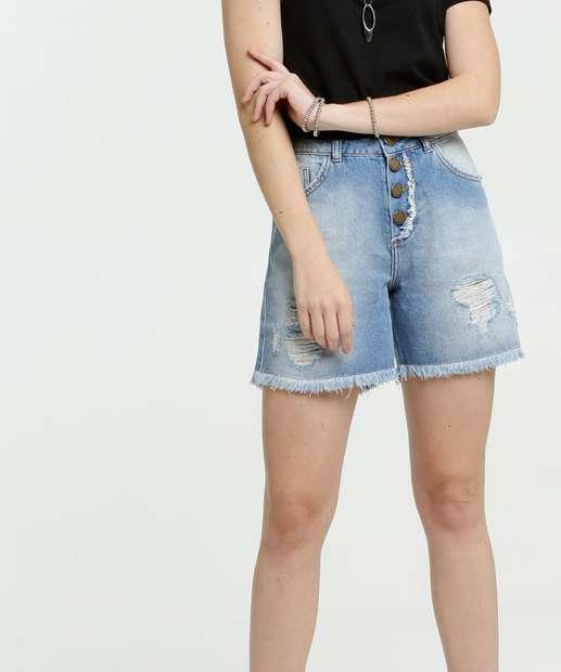 Image_Bermuda Feminina Jeans Destroyed Marisa