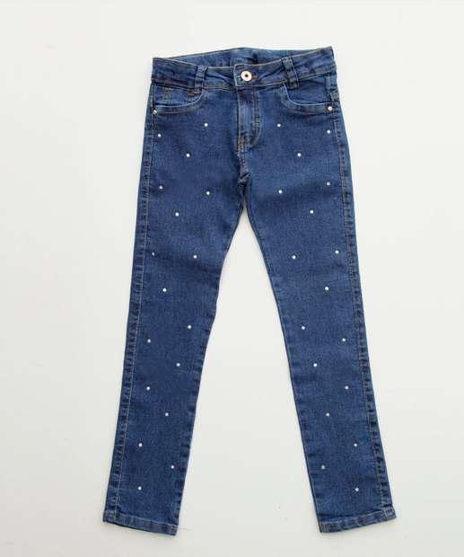 Image_Calça Infantil Jeans Stretch Strass