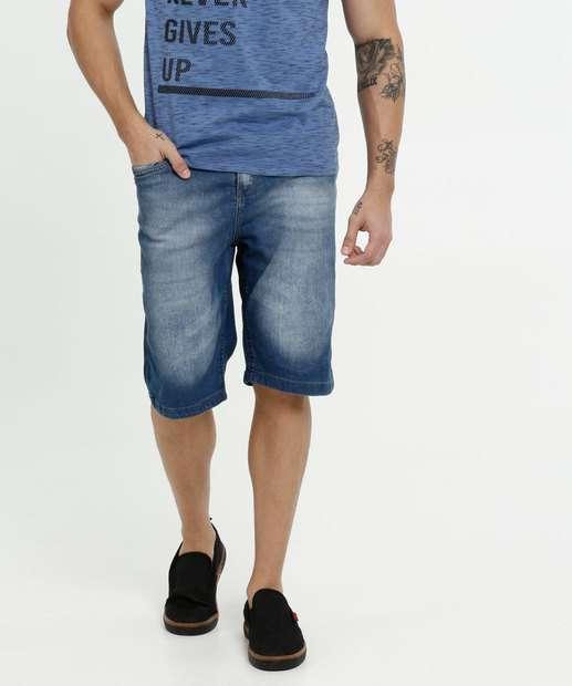 Image_Bermuda Masculina Jeans Bolsos