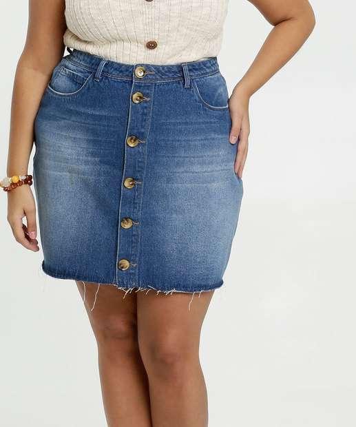 Image_Saia Feminina Jeans Plus Size Marisa