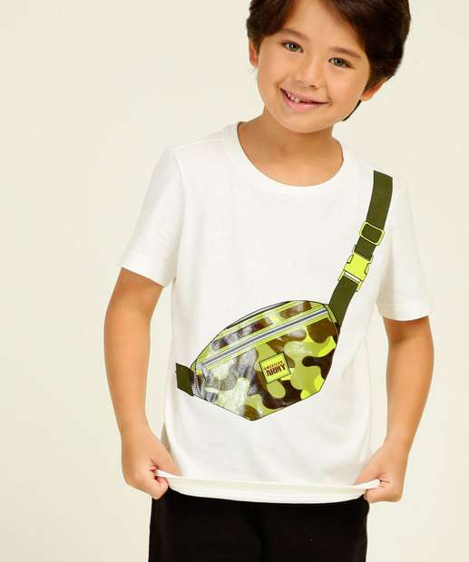 Image_Camiseta Infantil Manga Curta Pochete MR Tam 4 a 10