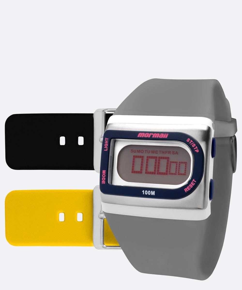 Kit Relógio Unissex Digital Mormaii FZGT8I