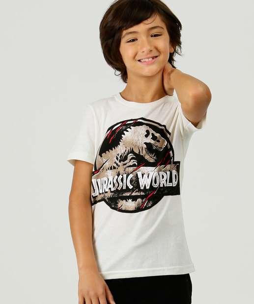 Image_Camiseta Infantil Jurassic Park Universal Tam 4 ao 10