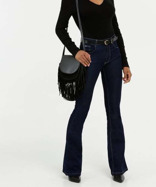 Image_Calça Jeans Stretch Flare Feminina Biotipo