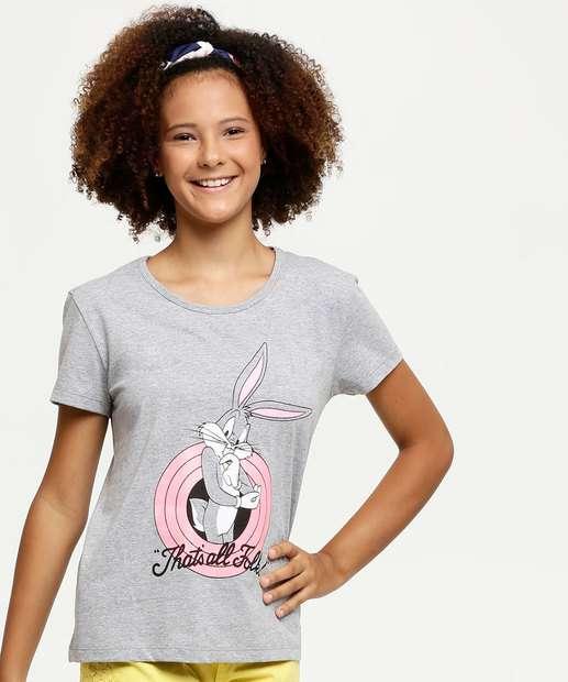 Image_Blusa Juvenil Estampa Pernalonga Looney Tunes