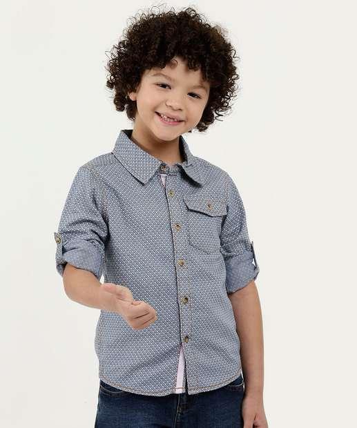 Image_Camisa Infantil Estampada Manga Longa