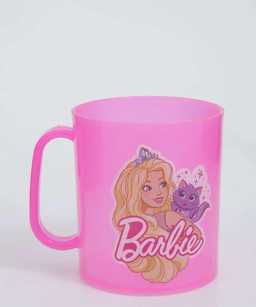 Image_Caneca Infantil Barbie 400ml Plasduran