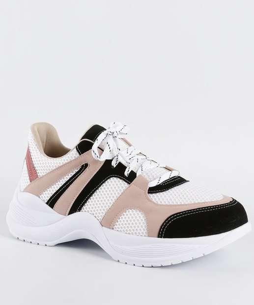Image_Tênis Feminino Chunky Sneaker Bebecê 1317602