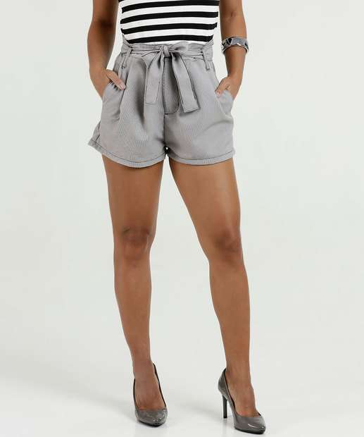 Image_Short Feminino Clochard Estampa Zig Zag Razon