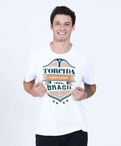 Image_Camiseta Masculina Torcida Brasil Manga Curta Marisa