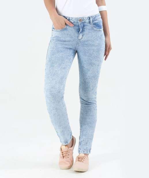Image_Calça Feminina Jeans Skinny Marmorizado Marisa