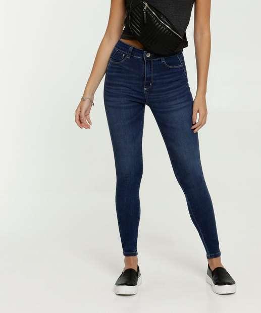 Image_Calça Jeans Skinny Feminina Stretch Sawary