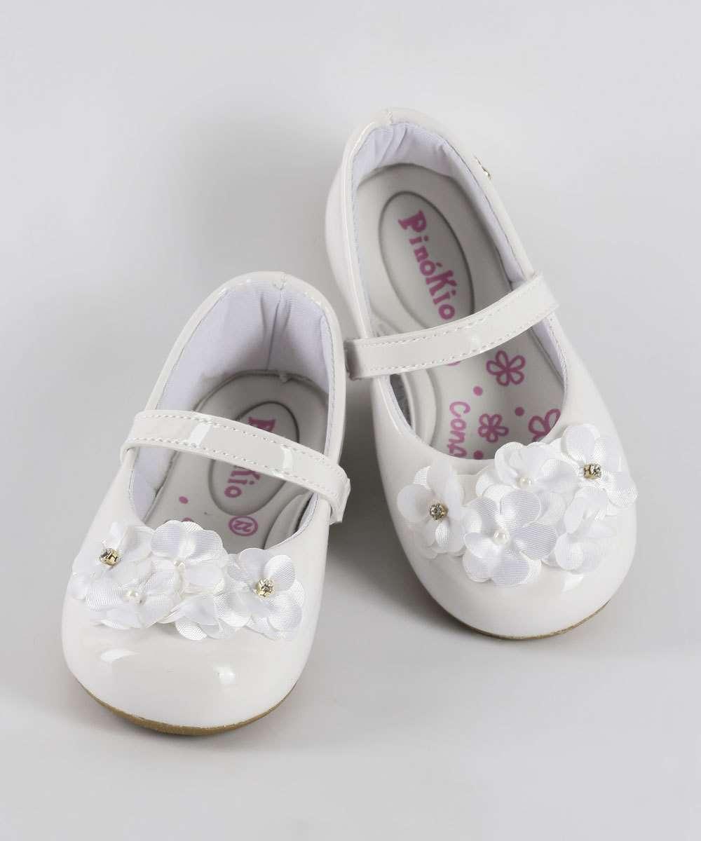 Sapatilha Infantil Bebê Boneca Pinokio 11531475
