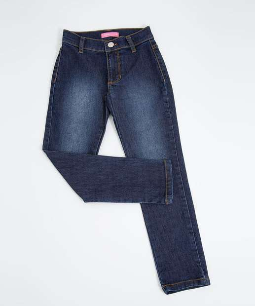 Image_Calça Infantil Jeans Stretch Marisa Tam 4 a 10