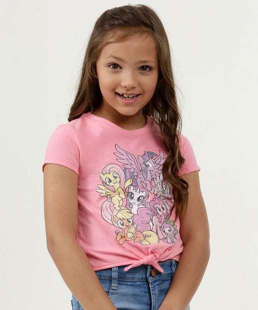 Image_Blusa Infantil Estampa My Little Poney Amarração Hasbro