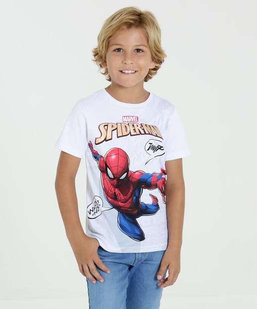 Image_Camiseta Infantil Manga Curta Homem Aranha Marvel