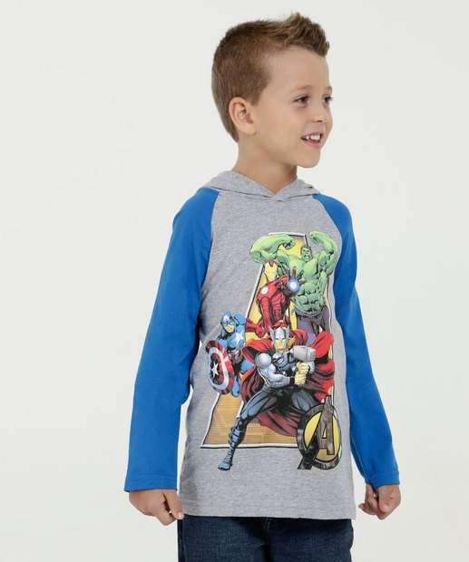 Image_Camiseta Infantil Estampa Vingadores Manga Longa Marvel