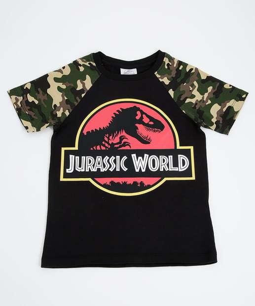 Image_Camiseta Infantil Jurassic Park Manga Curta Universal