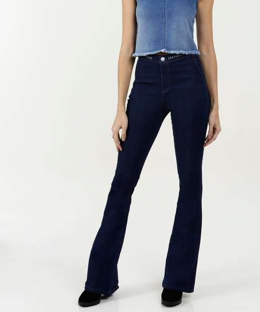 Image_Calça Feminina Flare Stretch Five Jeans