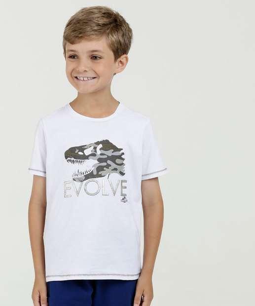 Image_Camiseta Infantil Estampa Dinossauro Manga Curta Jurassic World