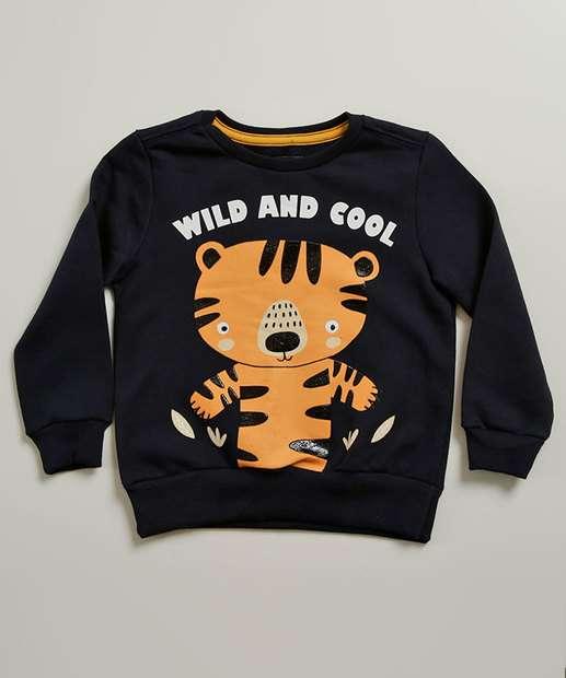 Image_Blusão Infantil Moletom Estampa Tigre MR