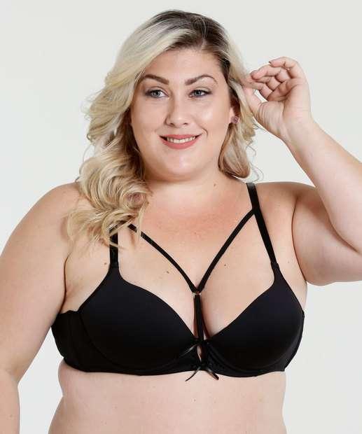 Image_Sutiã Feminino Tiras Strappy Laço Plus Size Marisa