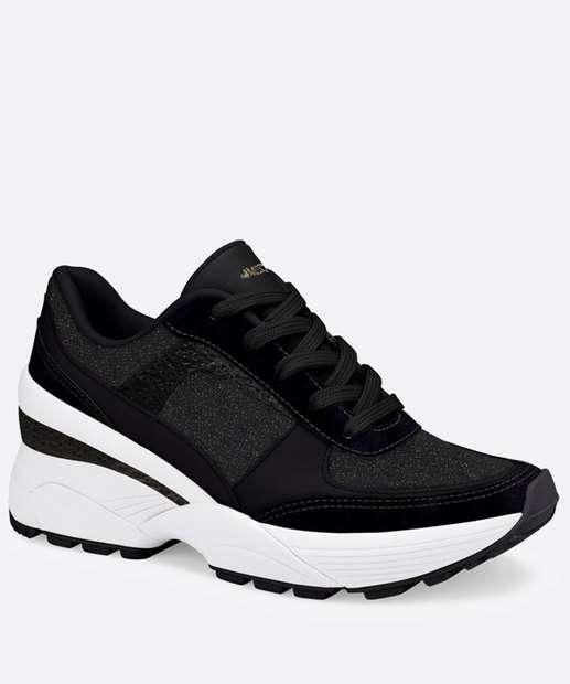 Image_Tênis Feminino Chunky Sneaker Recorte Mississipi