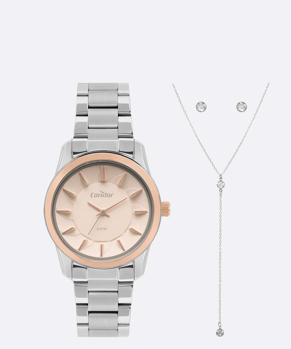 Relógio Feminino Condor CO2036KWKK5J