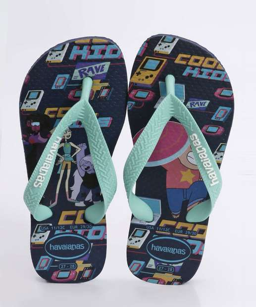 Image_Chinelo Havaianas Infantil Kids Cartoon
