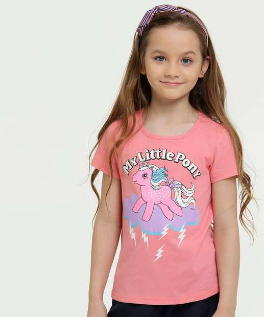 Image_Blusa Infantil Estampa My Litle Poney Hasbro