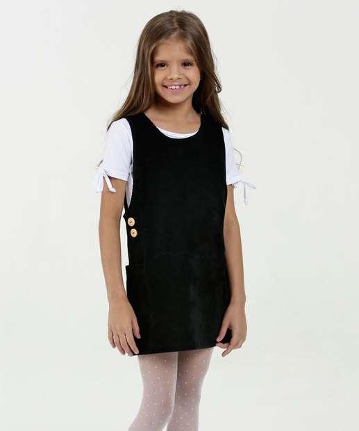 Image_Salopete Infantil Veludo Textura Marisa