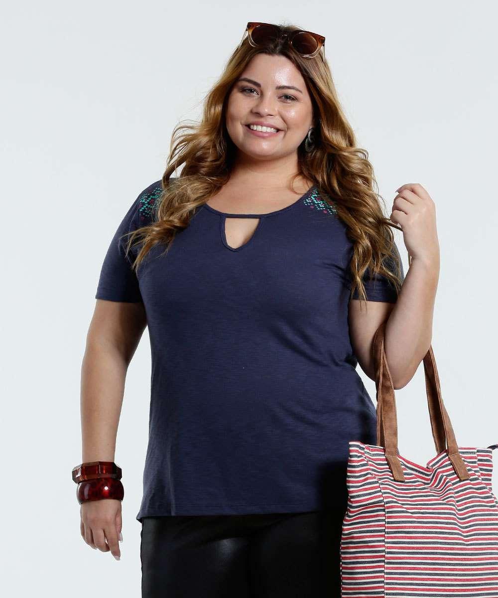 Image_blusa feminina Plus Size marisa