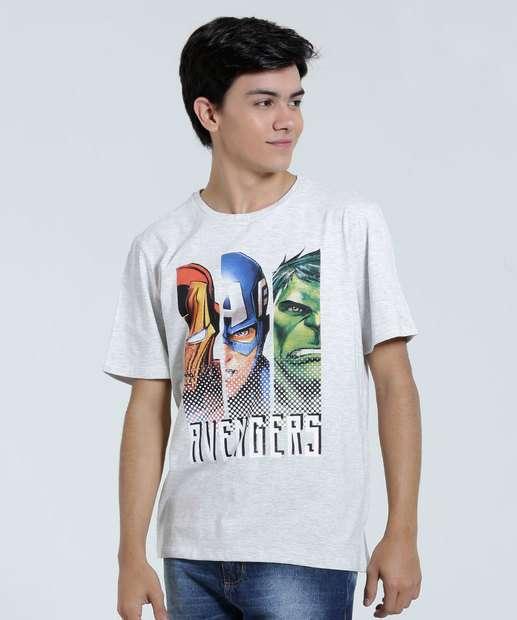 Image_Camiseta Infantil Estampa Super Heróis Marvel