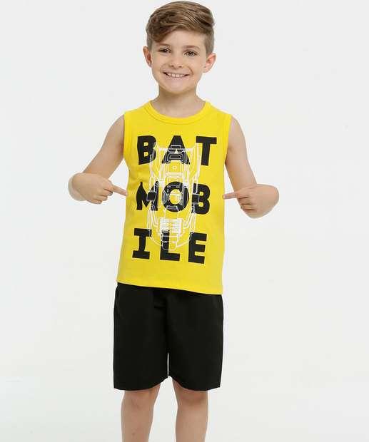 Image_Conjunto Infantil Batman Sem Manga Liga da Justiça