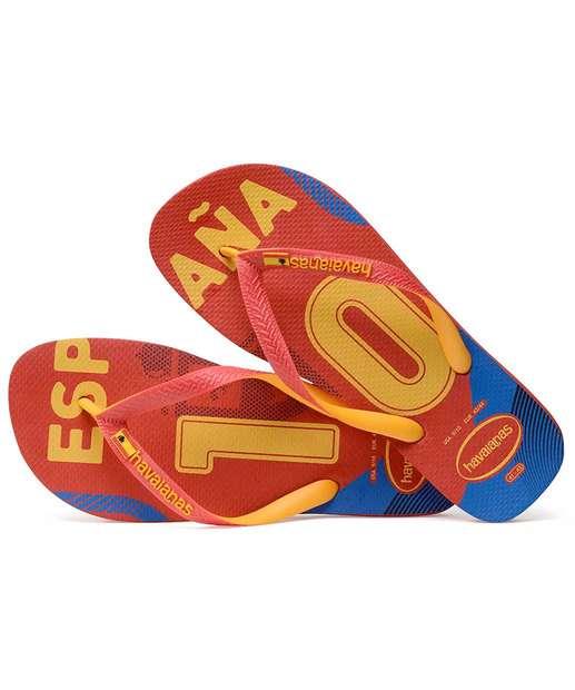 Chinelo Masculino VERMELHO do Havaianas Teams Copa ESPANHA Mundo Espanha rrxgCfwq