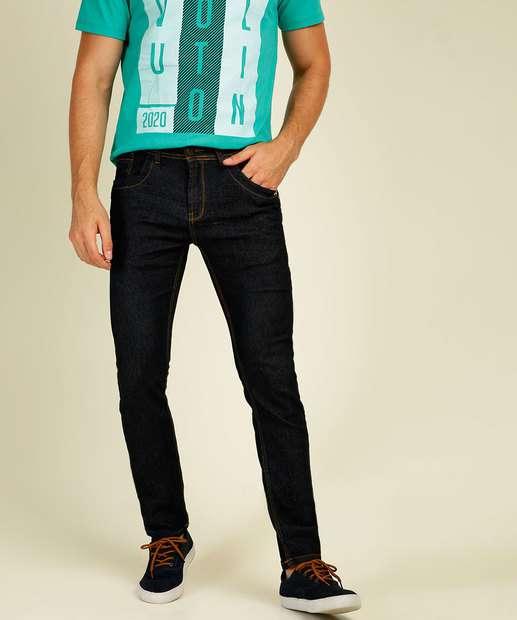 Image_Calça Masculina Slim Bolsos Zune Jeans