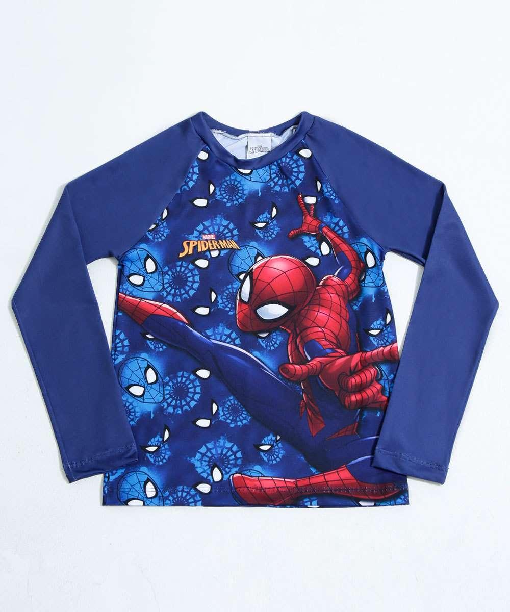 Image_Camiseta Infantil Homem Aranha Proteção UV Marvel