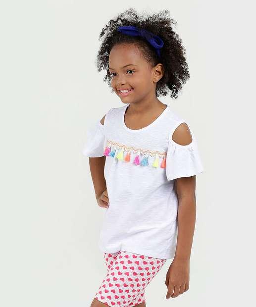 Image_Blusa Infantil Flamê Open Shoulder Marisa