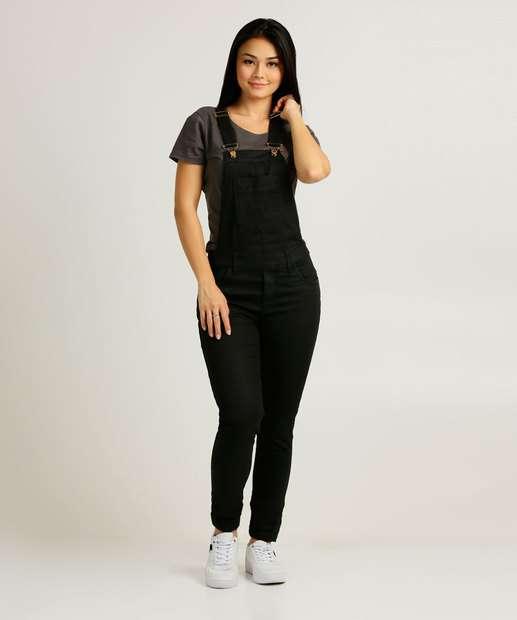Image_Macacão Feminino Bolso Frontal Zune Jeans