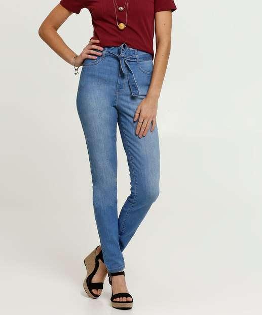 Image_Calça Jeans Skinny Clochard Feminina Marisa