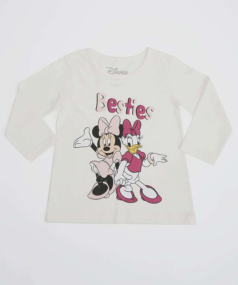 Blusa Infantil Manga Longa Disney Tam 1 a 4
