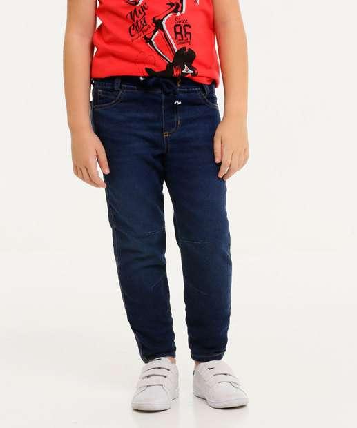 Image_Calça Infantil Jeans MR Tam 4 a 10