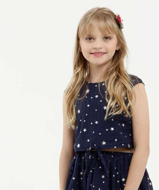Image_Blusa Infantil Cropped Estampa Estrelas Marisa