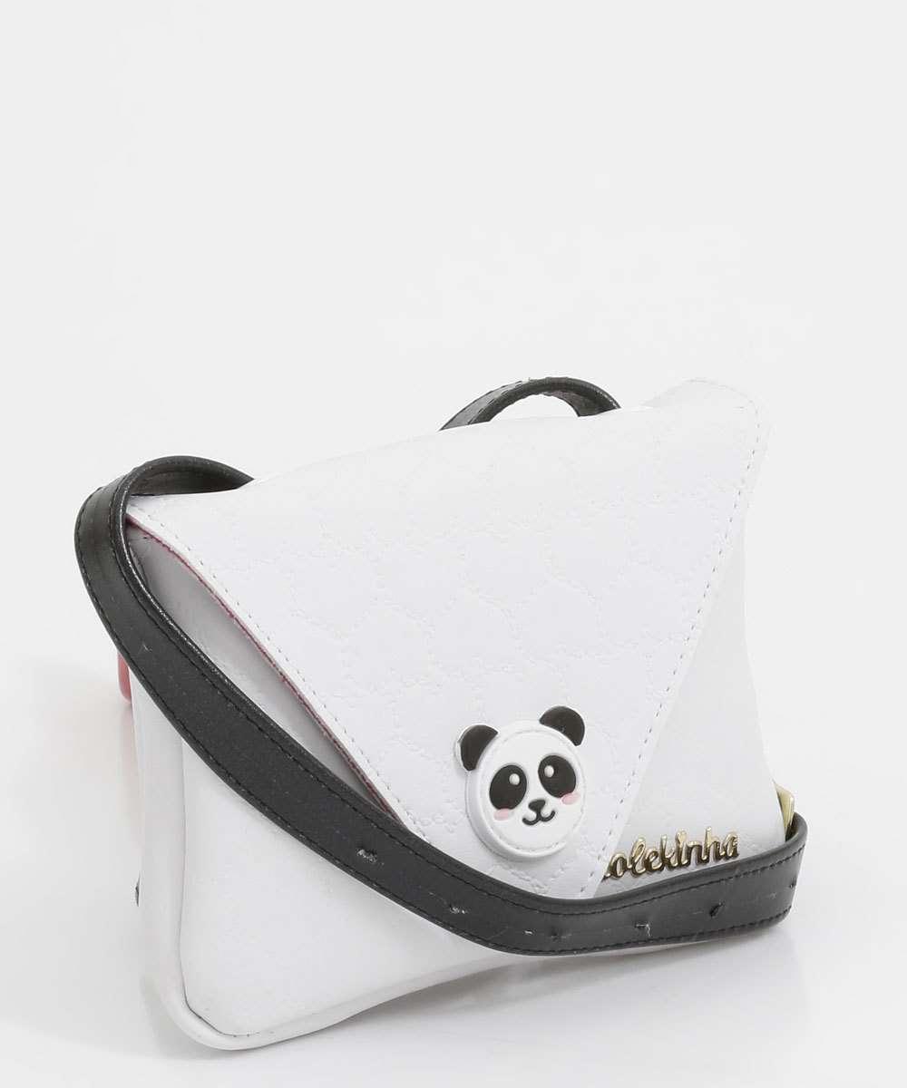 Bolsa Infantil Pochete Transversal Panda Molekinha