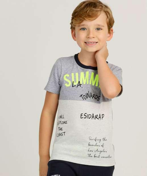 Image_Camiseta Infantil Estampa Frontal MR Tam 4 a 10