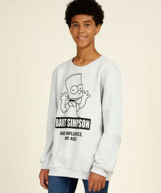 Image_Blusão Juvenil Estampa Bart Simpsons Tam 10 a 16