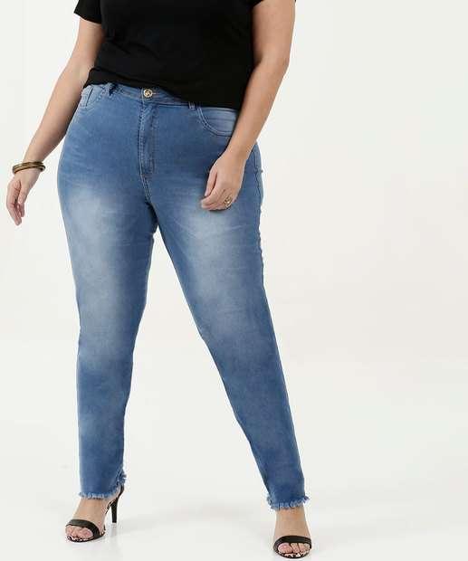 Image_Calça Feminina Cigarrete Plus Size Uber Jeans